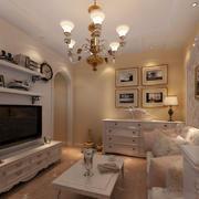 客厅电视墙现代型