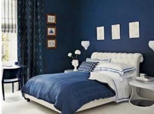 地中海风格单身公寓女生卧室装修效果图