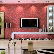 三居室客厅电视墙