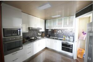 大户型简欧厨房装修设计效果图