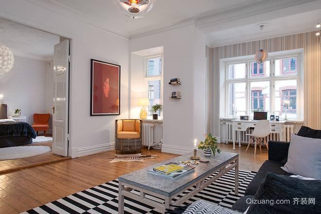 北欧时尚别墅装修风格效果图