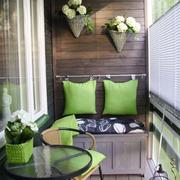现代小阳台绿色款
