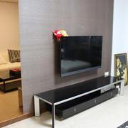 客厅电视墙复式楼款