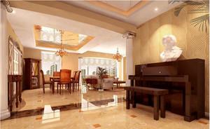 50平米欧式客厅装修效果图