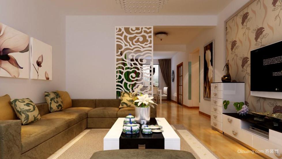 100平米中式客厅装修效果图