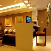 中式客厅吊顶公寓款