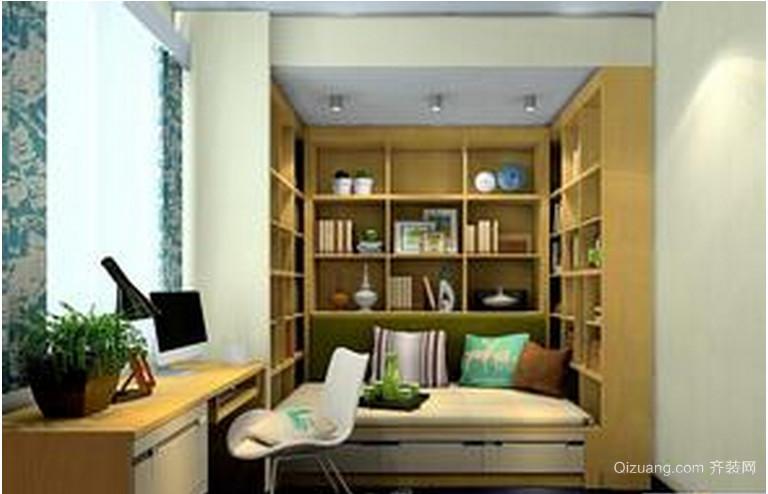 小户型欧式书房装修效果图