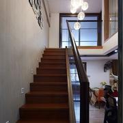 简约楼梯中式款