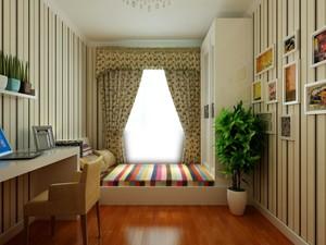 女士唯美日风单身公寓榻榻米装修效果图
