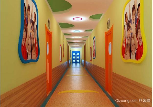 现代简约幼儿园装修设计效果图