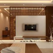 三居室客厅电视墙公寓款