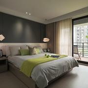 简约两厅室卧室现代款