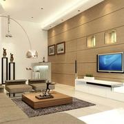 客厅吊顶现代型