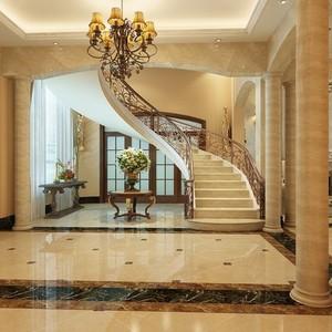 尊贵欧式楼梯装修效果图