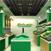 简约水果店绿色款