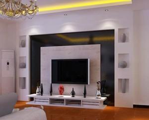 简约客厅电视墙