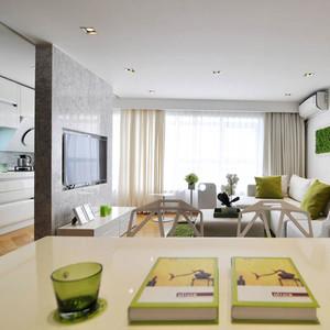 现代一居室简约风格装修效果图