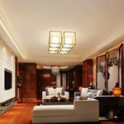 客厅吊顶美式创新款