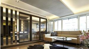 客厅隔断中式设计
