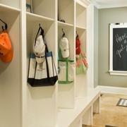 美式鞋柜壁挂式