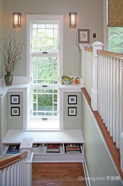 30平女生小卧室飘窗设计效果图