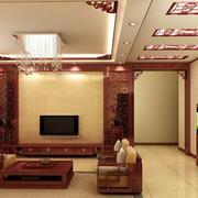 中式客厅欧式款