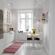 厨房现代白色款