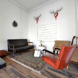 现代简约风格北欧一居装修风格效果图