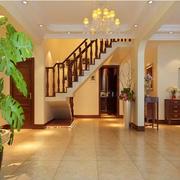 家装楼梯欧式款