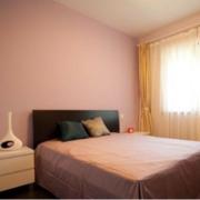 简约公寓三厅室卧室粉色款