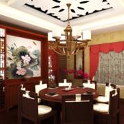 中式餐厅典雅款