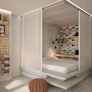 公寓卧室欧式款