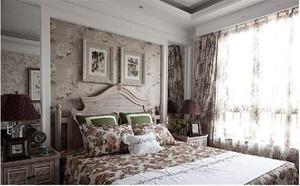 法式风格窗帘装修效果图