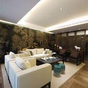 中式客厅大户型
