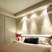 简约卧室石膏线