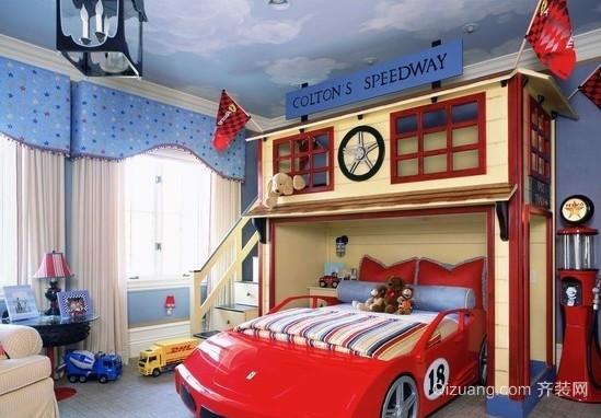三居室欧式风格儿童装修效果图