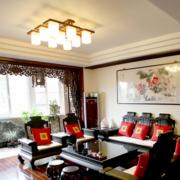 客厅吊顶欧式复古款