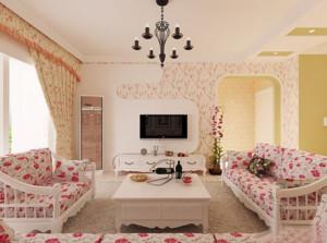 田园风格单身公寓装修设计效果图