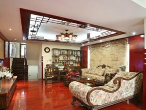 客厅吊顶欧式华丽款