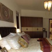简约公寓三厅室卧室中式款