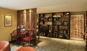 书房隔断装修设计效果图