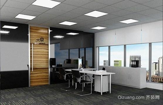 现代简约100平米办公室装修效果图