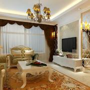 欧式客厅现代款