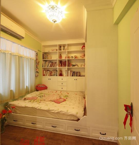 美式风格榻榻米床儿童房装修效果图