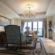 法式客厅奢华款