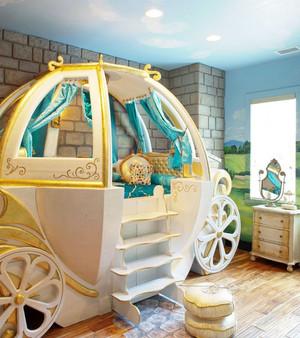 现代欧式儿童房吊顶装修效果图