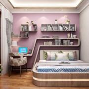 卧室榻榻米紫色款