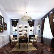 法式客厅单身公寓款