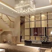 客厅吊顶优雅款