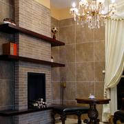 复式楼客厅效果图